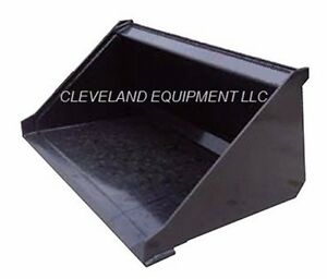 New 36 Mini Low Profile Bucket For Thomas Finn Compact Skid Steer Loader 3