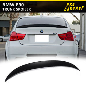 Stock In Us For Bmw E90 2005 11 P Style High Kick Trunk Spoiler Sedan Unpainted