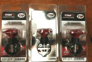 3 Titan 313 Reversible Spray Tips 692 313