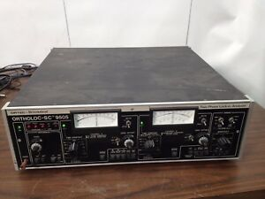 Ortec Brookdeal Ortholoc sc 9505 Two Phase Lock in Amplifier Analyzer Analyser