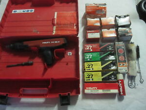 Hilti Dx36m Semi Automatic Powder Actuated Fastening Tool Nail Gun Accessories