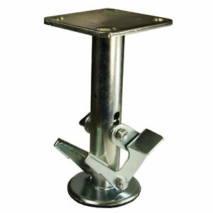 8 Inch Double Pedal Floor Truck Lock 4 X 4 5 Top Plate Service Caster Brand