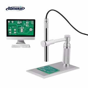 Zoom 1 500x Handheld Usb Dental Microscope Phone Endoscope Led Lights With Stage