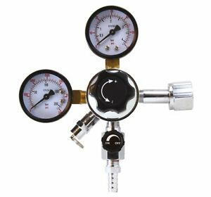 Co2 Regulator For Beer And Soda Keg And Dispensing System Cga 320