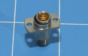 Rf Connector adapter 1 Pc M a com amp Bma Jack f To Sma f 50 Ohm 18 Ghz New