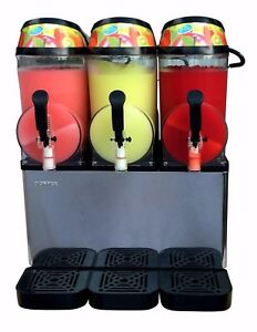 Donper Xc336 New Triple Bowl Margarita Slush Frozen Drink Machine