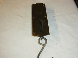 Vintage Chatillons Improved Spring Balance Scale New York