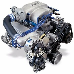 Mustang 5 0 1986 93 Vortech Satin Supercharger System V3 Si W Charge Cooler