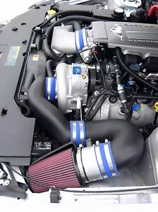 Mustang Gt 2005 08 Vortech Supercharger System W charge Cooler