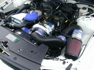 Mustang 2005 08 V6 4 0 Vortech Supercharger System W Charge Cooler