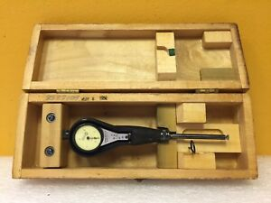 Standard Gage Co 2 0 1 4 To 3 8 Range Dial Bore Gage Case