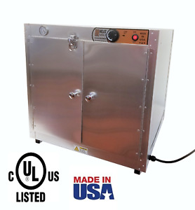 Commercial Food Warmer Heatmax 24x24x24 Hot Box Pizza Pastry Patties Concession