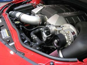 Chevy Camaro Ss Polished Vortech Supercharger Complete Kit 2010 2011