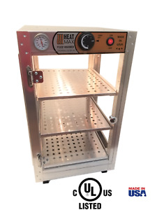 Heatmax 14x14x24 Commercial Food Warmer For Pizza Empanada Pastry