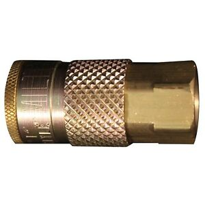 1 10 Milton 785 Coupler 1 4 Female Npt T style 1 4 Basic Flow Free S