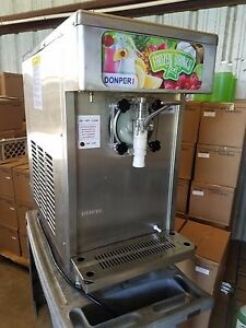 Open Box Display Unit Donper Xf124 Frozen Margarita Slush Drink Machine