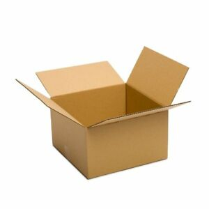 Shipping Boxes 25 Pack 14x14x6 Mailing Moving Box Cardboard Storage Packing Move