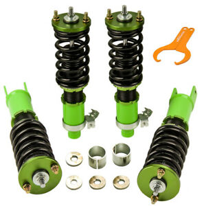 Racing Coilover Suspension Kits For Honda Civic Ek Ej Em 96 00 Adj Height Usa