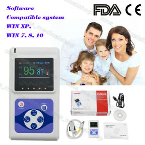 Hand held Blood Oxygen Monitor 1 8 Oled usb Pc Software Us Hot Sale
