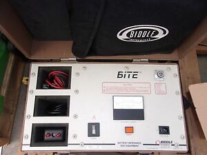 Biddle Bite Battery Impedance Test Equipment