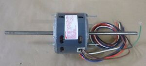 Magnetek 0511 Double End Shaft Motor 1 4hp 1075 Rpm Single Phase 3 speed