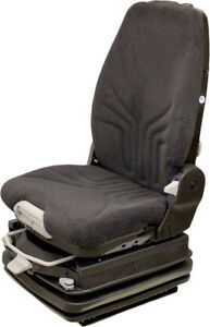 Grammer Grand Msg97al 722 Highback Fabric 24 Volt Seat For Construction Equip