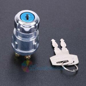 4 Position Universal Car Ignition Starter Switch With 2 Keys For Cars Truck Boat