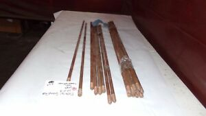 Electrical Ground Rods 36 X 1 2 Diameter Lot Of 18