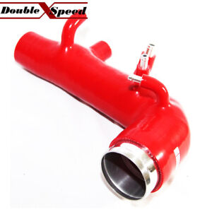 Silicone Turbo Inlet Red For 02 03 04 05 06 07 Subaru Impreza Wrx Sti