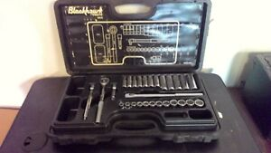 Blackhawk By Proto 3829 M Socket Set 28 Piece Set Free Shipping