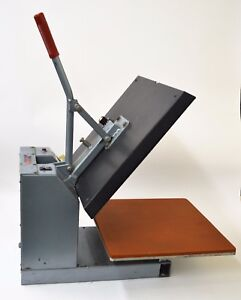Hix Heat Press Ht400 15 x15 Machine Made In Usa local Pick Up Only