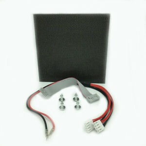 P2 5 Full Color Led Display Module Indoor Rgb 64 64 Pixels Hid Screen 160 160mm
