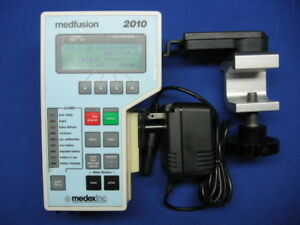 Medfusion 2010 Syringe Pump Pole Clamp Power Supply Certified With Warranty