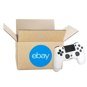 Official Ebay branded Boxes With Blue 2 color Logo 8 X 6 X 4 Premium New Line