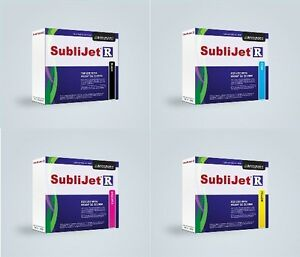 Sublijet R Sublimation Ink Kit cmyk Cartridge For Ricoh Sg 3110d By Sawgrass