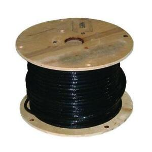 100 Ft 2 0 Awg Welding Battery Cable Black 105 c