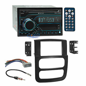 Planet Audio Cd Usb Bluetooth Stereo Dash Kit Harness For 2002 2005 Dodge Ram