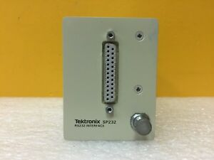 Tektronix Sp232 Serial Extended Function Module For 1502b c Mtdr s Tested