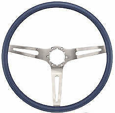 1969 Camaro 69 70 Chevelle Impala Nova Blue Steering Wheel 3 Spoke Comfort