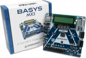 Digilent Basys Mx3 Pic32mx Trainer Board 410 336 Basys Mx3 Pic32mx Trainer