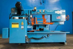 Doall Automatic Horizontal Metal Cutting Bandsaw mitering Head 14 X 20