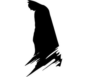 Batman Silhouette Vinyl Decal Sticker Dc Comics Wall Car Truck Laptop Window