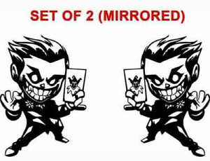 Joker Batman Dc Comics Chibi Vinyl Decal Sticker Wall Car Laptop Window
