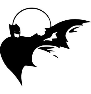 Batman Dc Comics Decal Dark Knight Vinyl Sticker Wall Car Window Laptop
