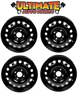 Steel Wheel Rim 15 Inch Wheels set Of 4 For 04 11 Ford Focus