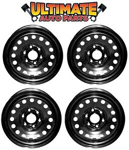 Steel Wheel Rim 17 Inch Wheels set Of 4 For 06 17 Chevy Silverado 1500