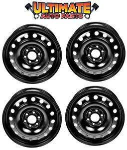 Steel Wheel Rim 17 Inch Wheels set Of 4 For 06 07 Buick Terraza