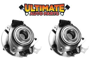 Front Wheel Bearing Hubs 4x4 Or Awd Pair For 00 2000 Chevy S10 Blazer