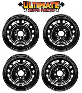 Steel Wheel Rim 15 Inch Wheels Set Of 4 For 04 07 Chevy Malibu Maxx