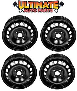 Steel Wheel Rim 15 Inch Wheels Set Of 4 For 05 10 Chevy Cobalt